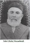 Fahri( Kulu) Efendi Hoca