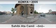 KONYA Sahibi Ata Camii –önü–