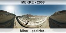 MEKKE Mina –çadırlar–